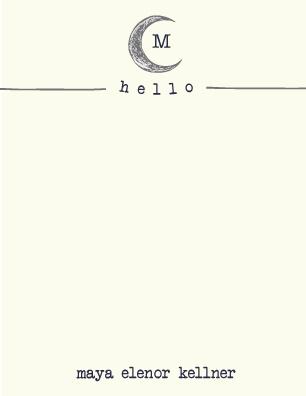 personal stationery - Lunar Love by Maija Rebecca