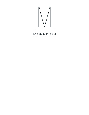 personal stationery - Modern Monogram by Christina Novak