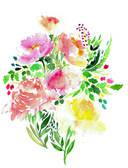art prints - Bouquet by Darina Gocheva