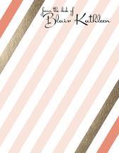 Retro Stripes by Amanda Hill