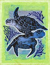 Sea Turtles by Judith Krimski