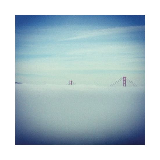 art prints - Golden Gate Peekaboo by Anthea Tjuanakis Cox