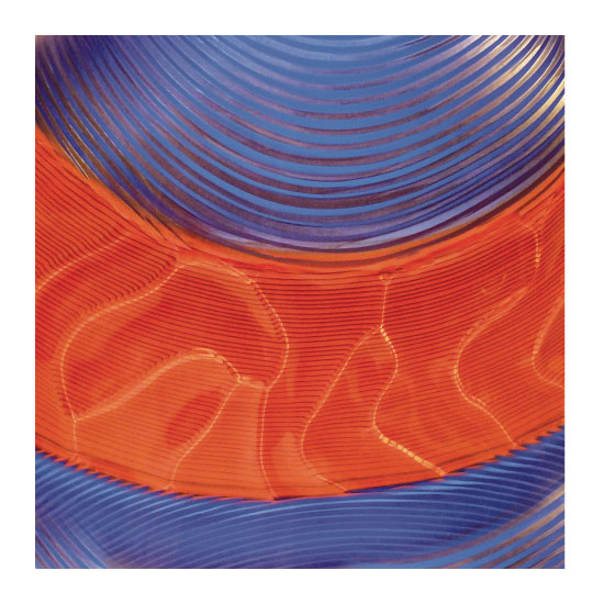 art prints - Blue and Orange by Mazing Designs