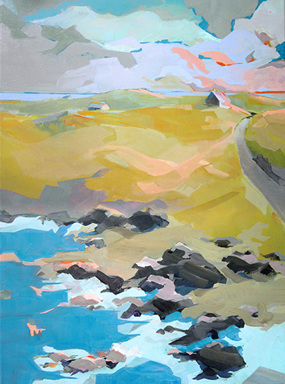 art prints - Out to Sea by Jess Franks