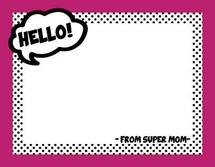 Comic Hello by Evelyn Siy