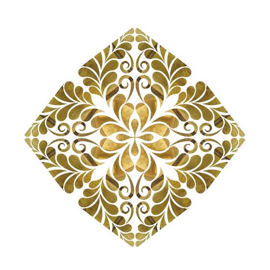 art prints - Diamond Flower by A Maz Designs