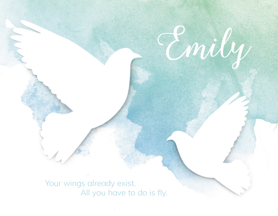 personal stationery - Fly High by Evelyn Francis Cook