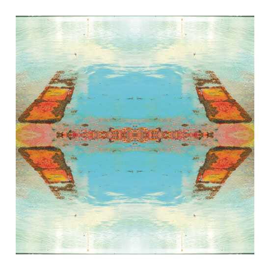 art prints - Mirrored Shoreline by Suzie Gilmour