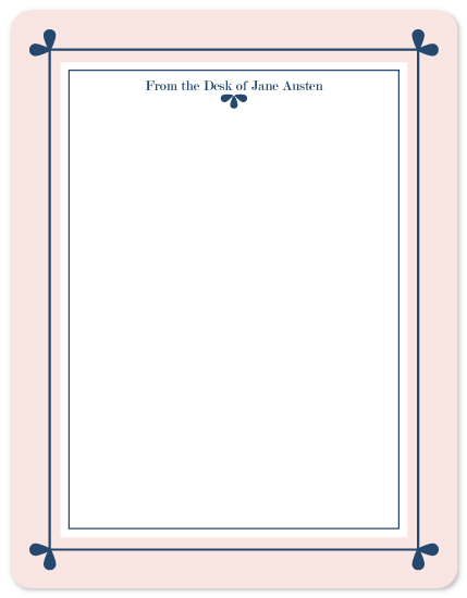 personal stationery - Navy is Gravy by Simply Leah Jean