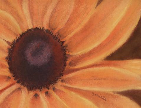 art prints - Brown Eyed Girl by Debby Frisella