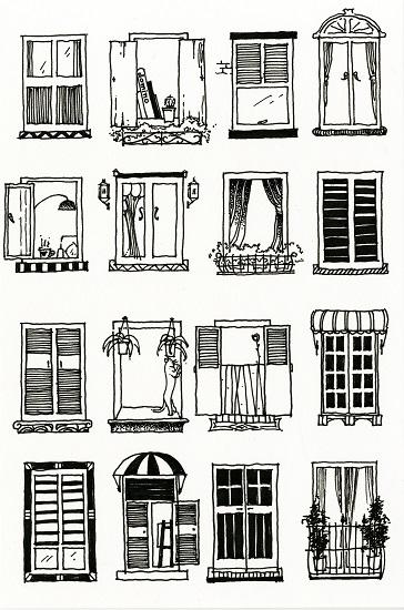art prints - windows by Jarey Lu