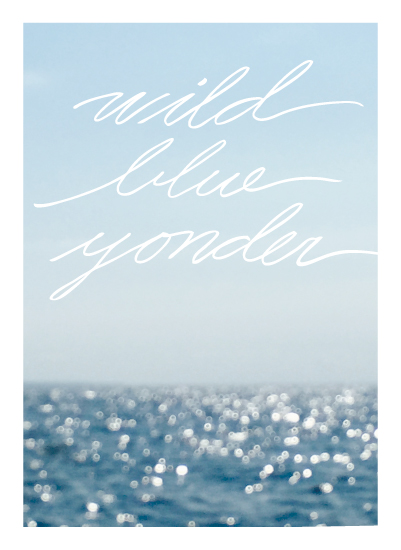 art prints - Wild Blue Yonder by CaroleeXpressions