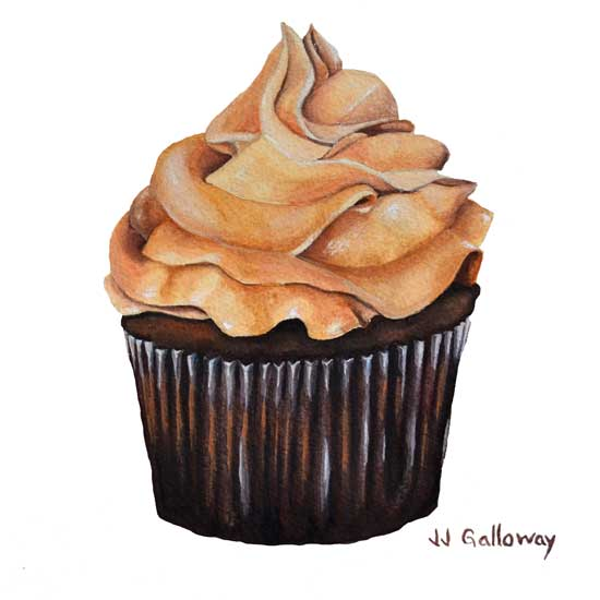 art prints - Chocolate et la Beurre by JJ Galloway Studio