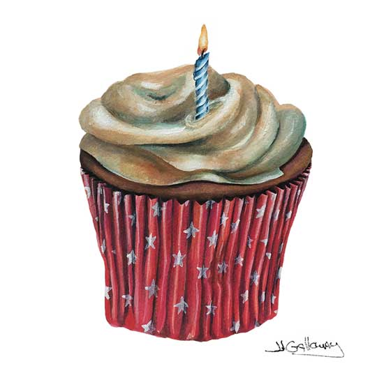 art prints - Happy Birthday! by JJ Galloway Studio