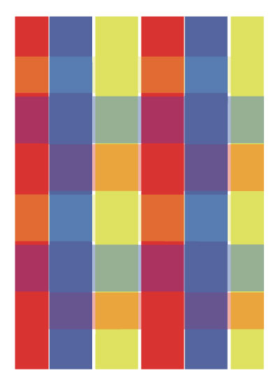 art prints - Primary Madras Print by Laura Palmer
