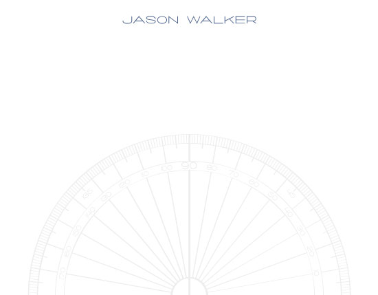 personal stationery - Protractor Pro by Julie Darrell
