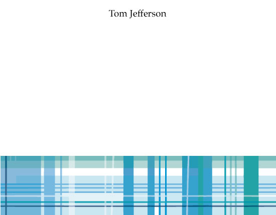 personal stationery - A Manly Plaid by Laura Palmer