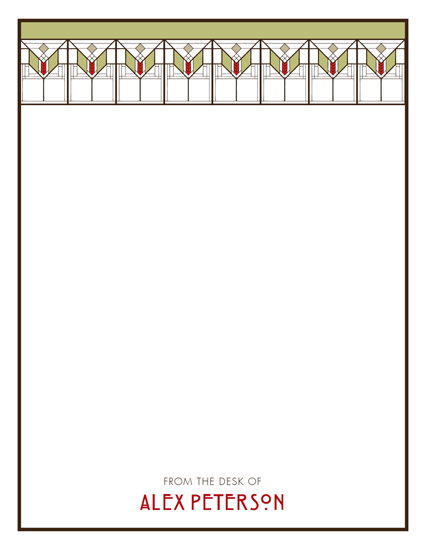 personal stationery - Craftman Note by Kimberly Conner