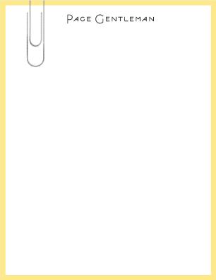 personal stationery - Clip Art by Panda and Pangolin