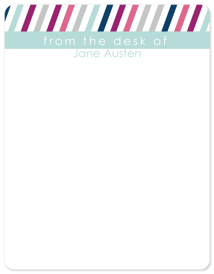 personal stationery - Thinking of Hue by Simply Leah Jean