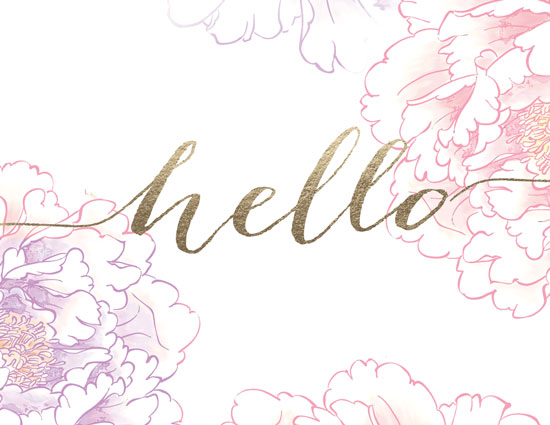 personal stationery - Hello Peony by 365 Designs