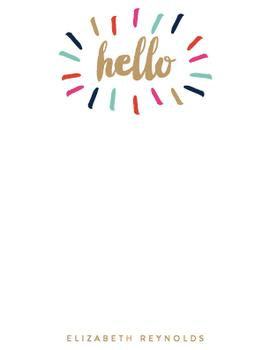 Bursting Hello