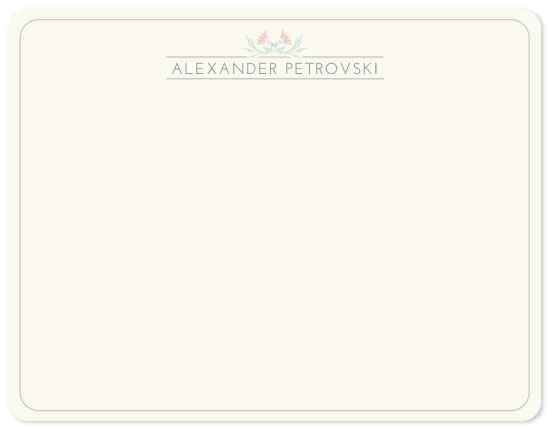 personal stationery - Pastel Mood by TheOchreBellyDesign