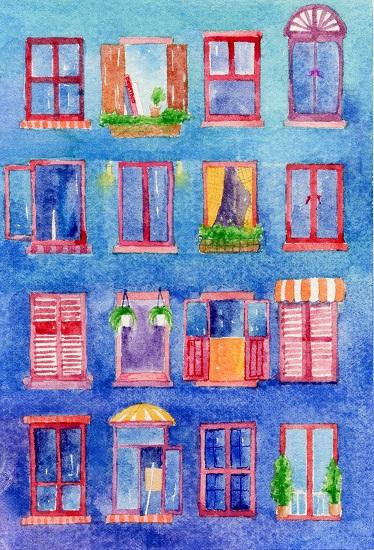 art prints - windows in dreams by Jarey Lu