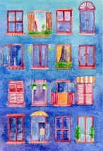 windows in dreams by Jarey Lu