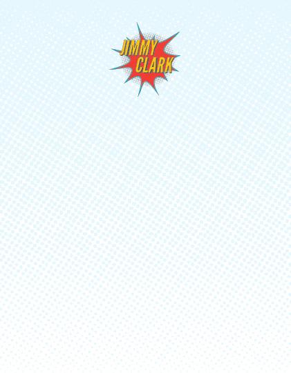 personal stationery - Super Hero by Joyrich Design Company