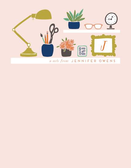 personal stationery - pretty organized by Jen Owens