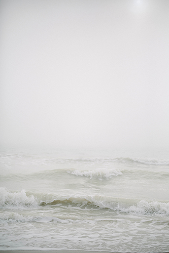 art prints - Foggy Beach Day by Shannon Kirsten