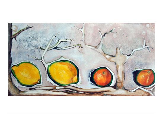 art prints - FruitScape by Amy Wicherski