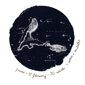 Constellations in Pisces