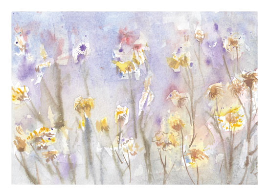 art prints - Pastel Garden by Matilda
