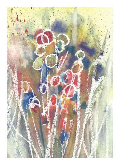 art prints - Circle Bloom by Matilda