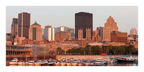 art prints - Montreal at Dawn by Lucian