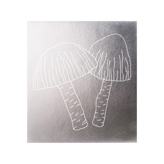 art prints - Silver veggies-Mushrooms by Avinash