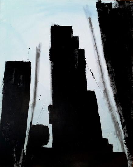 art prints - Downtown Somewhere by A.R. Pizarro