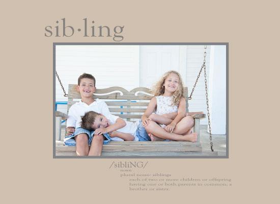 art prints - sibling by Carmelina Faraci
