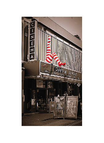 art prints - red stripes by Sabrina