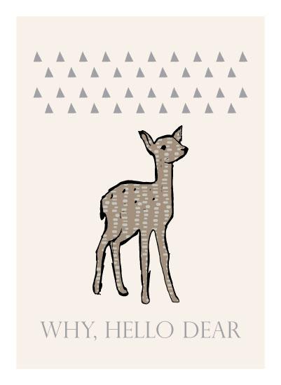 art prints - Little Dear by Jacquelyn Smith