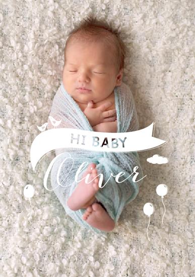 art prints - Hi Baby by Seven Swans