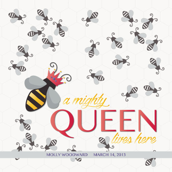 art prints - Queen Bee by Lindsey Atnip