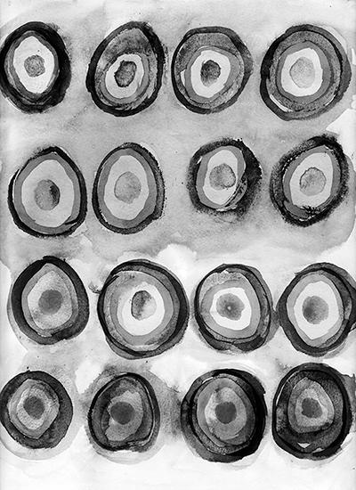 art prints - Bullseyes by Sandra Arduini
