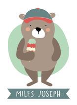 Triple Scoop Bear by Andrea Matray