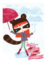 Happy rainy day by Eulalia Mejia