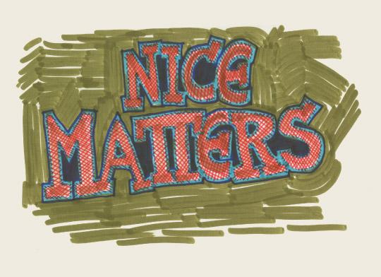 art prints - Nice Matters by Me Amelia