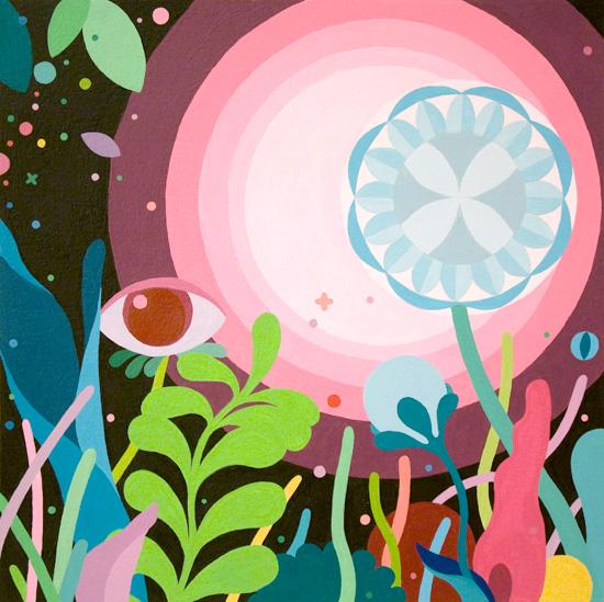 art prints - Psychic Garden by Kyle Knapp