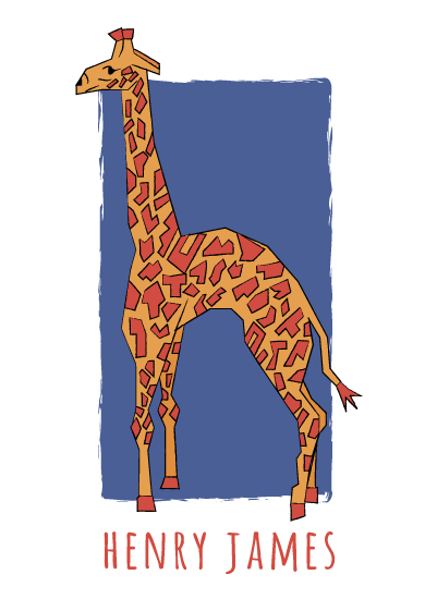 art prints - Zoo Alphabet H is for by Brooklyn